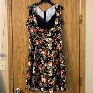 Dresses & Skirts - Vintage Remake Floral Dress, 2X